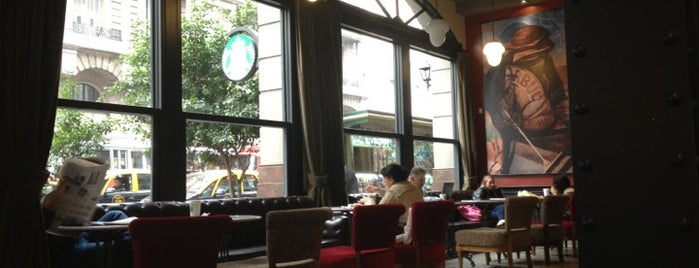 Starbucks is one of Lugares lindos :-).