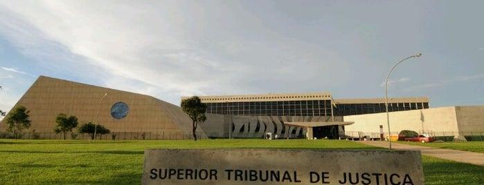 Superior Tribunal de Justiça (STJ) is one of Locais curtidos por Rosana.