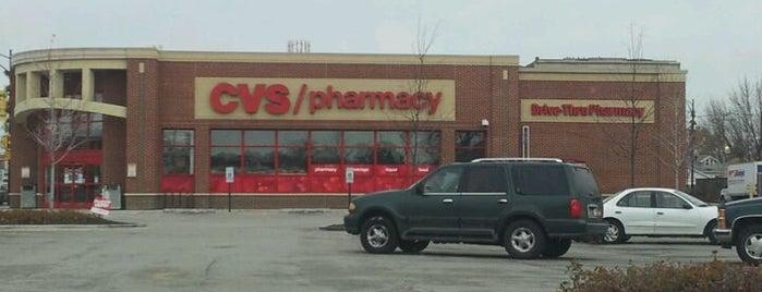 CVS pharmacy is one of David 님이 좋아한 장소.