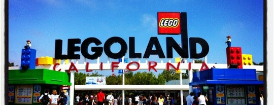 Legoland California is one of california dreaming.