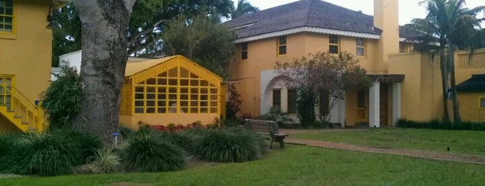 Bonnet House Museum & Gardens is one of Brazil in Miami 2013.