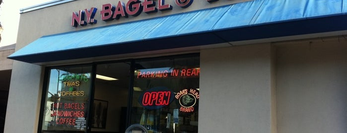 New York Bagel & Deli is one of David & Dana's LA BAR & EATS!.