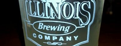 Illinois Brewing Company is one of Best Beer Spots in Central Illinois.