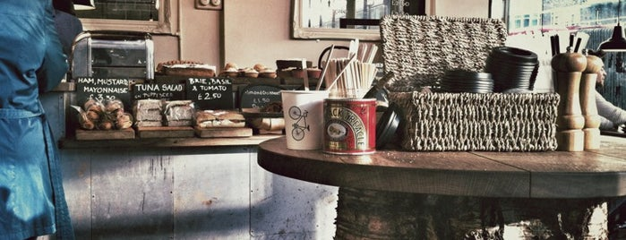 Department of Coffee and Social Affairs is one of An Aussie's fav spots in London.