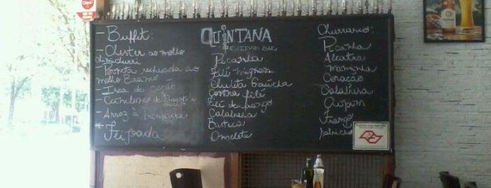 Quintana Bar do Espetinho is one of Para Comer en Sao Paulo.