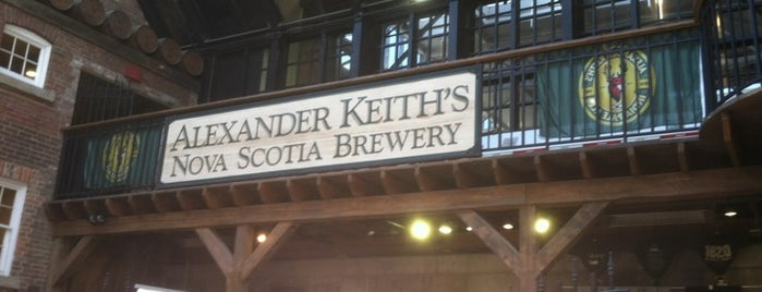 Alexander Keith's Brewery is one of Halifax.
