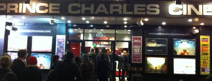 Prince Charles Cinema is one of London.