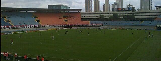 Estádio Serra Dourada is one of Lugares legais em Goiania.