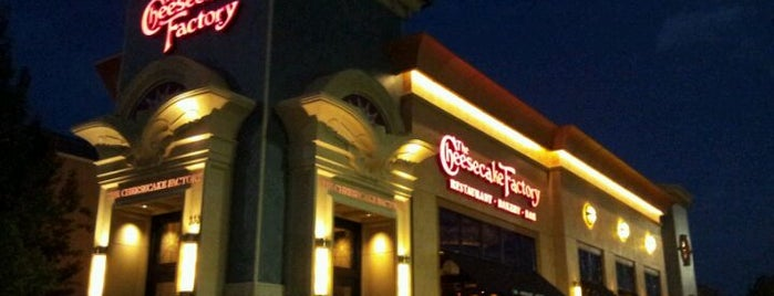 The Cheesecake Factory is one of Michael's Saved Places.