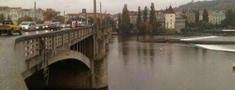 Jirásek-Brücke is one of StorefrontSticker #4sqCities: Prague.