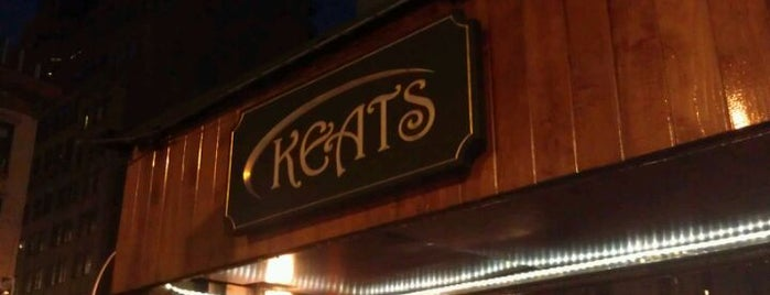 Keats Bar is one of NYC Trivia Nights.