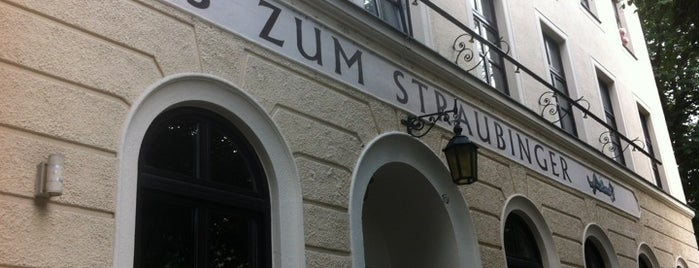 Wirtshaus zum Straubinger is one of Munich.