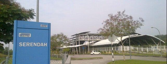 KTM Komuter Serendah (KA11) Station is one of Yunus'un Beğendiği Mekanlar.