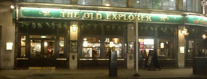 The Old Explorer is one of Stuff I want to see and redo in London.