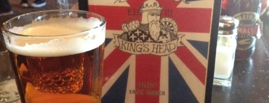 Ye Olde King's Head is one of Pubs/Bars to watch Fulham FC in the United States.