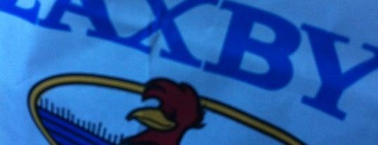 Zaxby's Chicken Fingers & Buffalo Wings is one of สถานที่ที่ Gayla ถูกใจ.