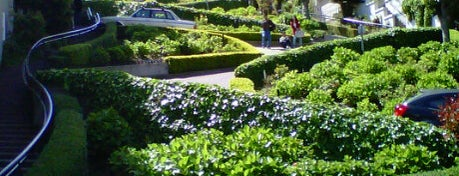 Lombard Street is one of Golden tips for the Golden State.
