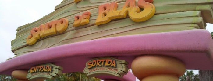 El Salto De Blas is one of PortAventura.