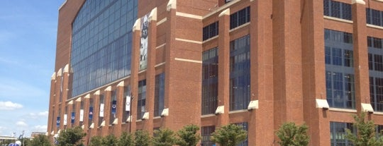 Lucas Oil Stadium is one of NFL Stadium.