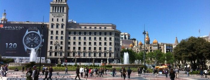 Plaça de Catalunya is one of 2013 - Espanha.