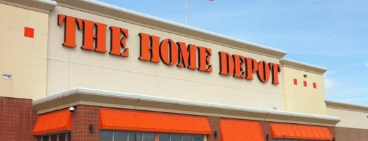 The Home Depot is one of Fixer Upper Badge - Cincinnati Venues.