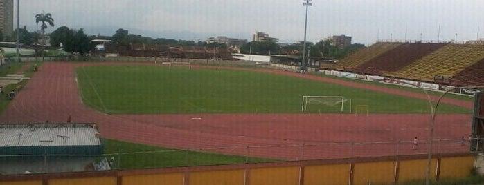 Estadio Olimpico Hermanos Ghersi is one of Estadios Primera División de Venezuela.