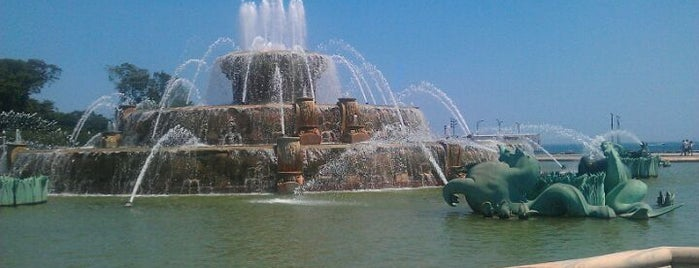 Clarence Buckingham Memorial Fountain is one of Chicago Sights and Sounds.