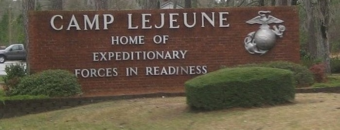 MCB Camp Lejeune is one of Places I've been.