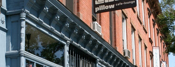 Pillow Cafe-Lounge is one of NYC Sit-downs.