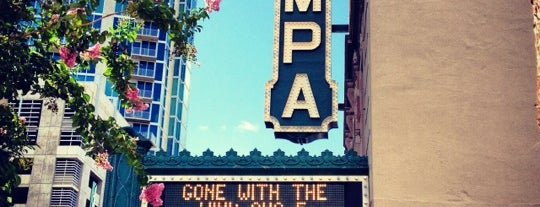Tampa Theatre is one of The Best Of Tampa Bay.