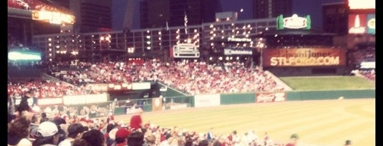 Busch Stadium is one of SND STL Locations & Tips.