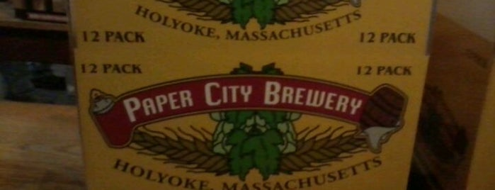 Paper City Brewery is one of Lieux sauvegardés par Joshua.