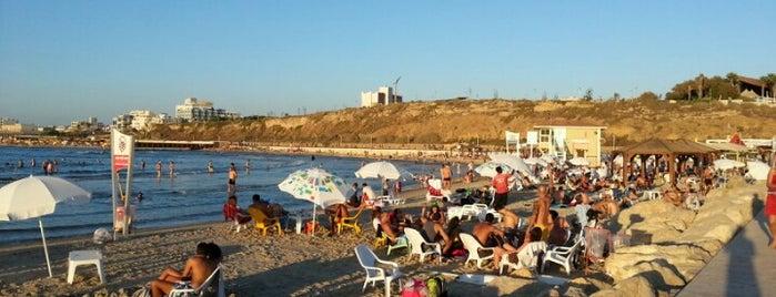 Nordau (Sheraton) Beach || חוף נורדאו (שרתון) is one of I heart Tel Aviv.