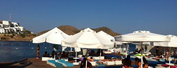 Mio Bianco Beach Club is one of Bodrum.