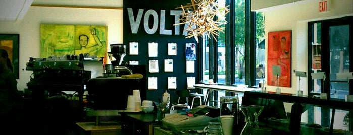 Volta Coffee, Tea & Chocolate is one of Lieux sauvegardés par Kaldicafe.