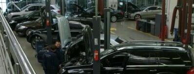 Автосервис Mercedes-Benz is one of สถานที่ที่ Mariya ถูกใจ.