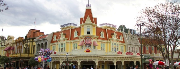 Casey's Corner is one of Disney Dining.