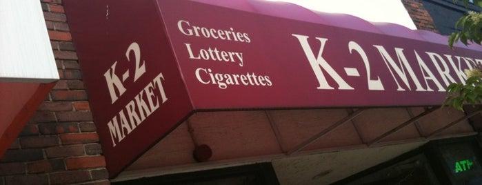 K-2 Market is one of Gespeicherte Orte von Lindsay.