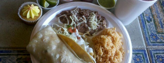 El Zarape is one of 40 Must-Try Burritos.