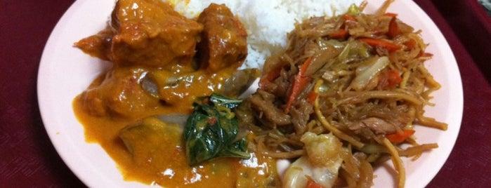 Bahay Kubo is one of LA Pinoy Cuisine.
