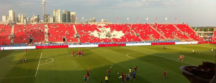 BMO Field is one of Come Back Later.