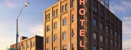 Wythe Hotel is one of Restaurants in NYC.