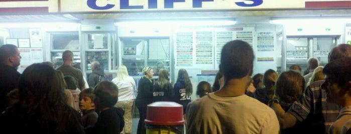 Cliff's Homemade Ice Cream is one of bucket list - dessert shop.