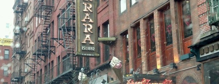 Ferrara Bakery is one of NY Region Old-Timey Bars, Cafes, and Restaurants.