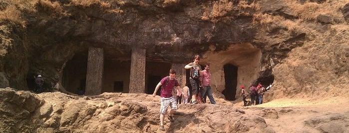 Elephanta Caves is one of Mumbai 2014 LenTom.