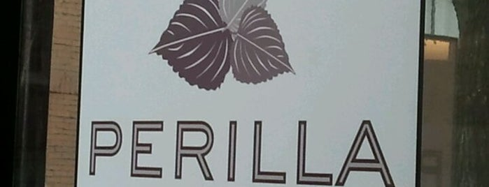 Perilla is one of NYC Essential Eats.