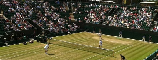 The All England Lawn Tennis Club is one of Europe trip 2013.