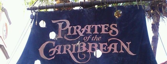 Pirates of the Caribbean is one of My vacation @Orlando.