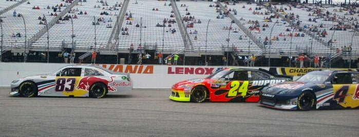 New Hampshire Motor Speedway is one of Sporting/Concert....