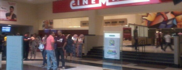 Cinemark is one of Tempat yang Disukai Samuel.